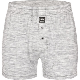 super.natural Base Wide Boxer Short 175 Underwear Men grey